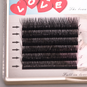 Private label individual eyelashes extension professional