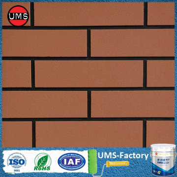 Interior brick paint on wall