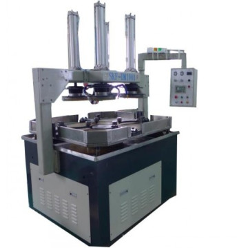 Valve wedges singe surface polishing machine