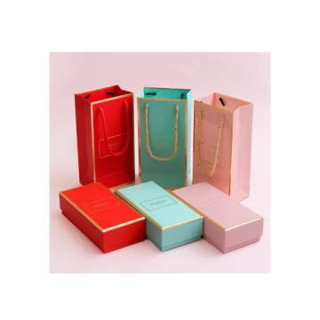 Luxury Hot Gold Stamping Foil Paper Jewelry Box