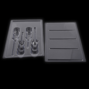 4 screwdriver kit packaging blister vac tray
