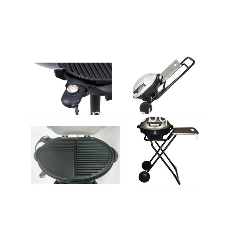 Electric grill details