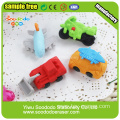 SOODODO Green Ali 3D Animal Shaped Mini Erasers