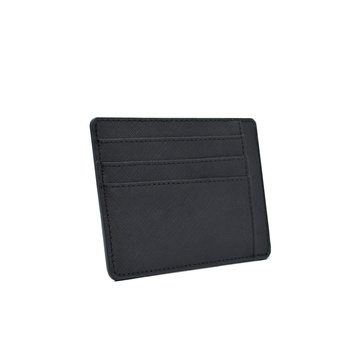 Minimalist Ultra-thin Durable Saffiano Leather Cardholder