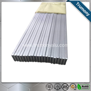 4343/3003/7072 Aluminum Flat Oval Tube For Radiators