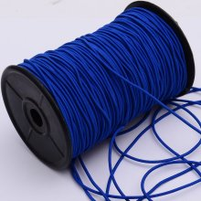 3mm Blue elastic rope elastic string bungee