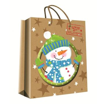 CHRISTMAS SERIES KRAFT GIFTBAG-0