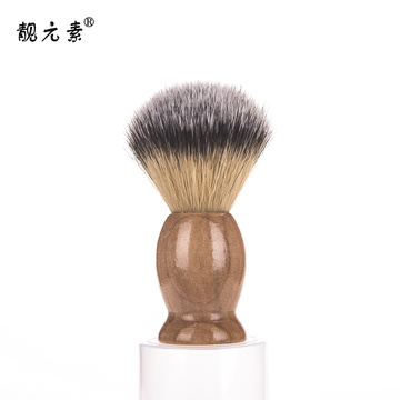 Synthetic badger shaving brush