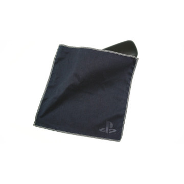 double layer microfiber embossed cloth in sewn edge