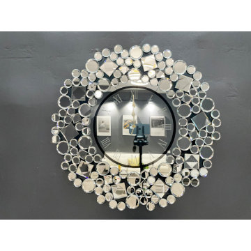 decor mirror wall Clock