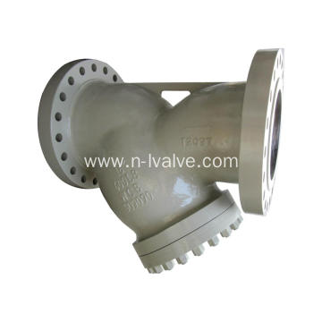 Casted Flange Y Type Strainer