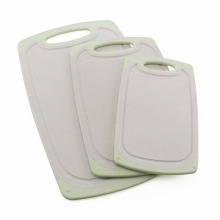 Non slip vegetable cutting board set of 3pcs
