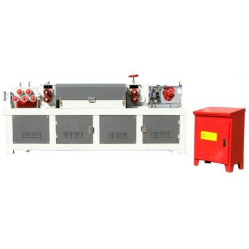 CNC steel hydraulic bar straightening and cutting machine