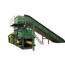 full-automatic PET bottle baler machine