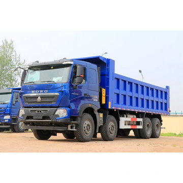 Cheap multi-functionused Howo Used diesel tipper truck