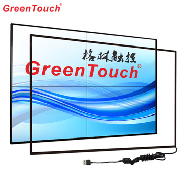 Custom Large Infrared Touch Screen Overlays 97 Inch