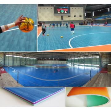 PVC Futsal Sports Flooring Indoor