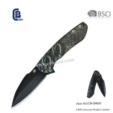 Camo Handle Pocket Knife