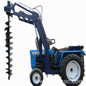 Tractor Installed Earth Digger Screw Pile Driver