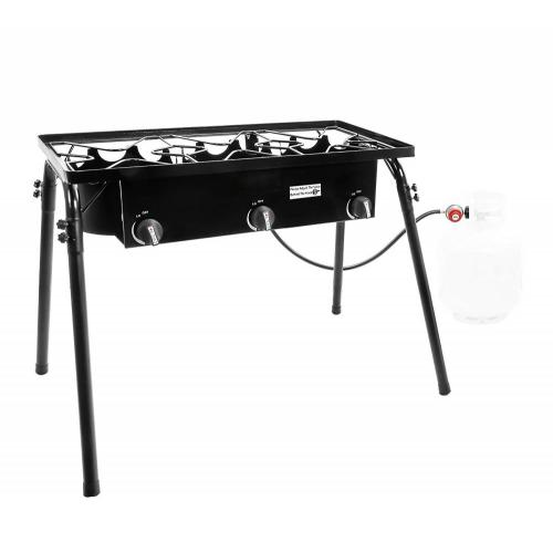 Outdoor Camping Three Burner Stove