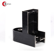 adjustable channel wall mount door roller floor guide