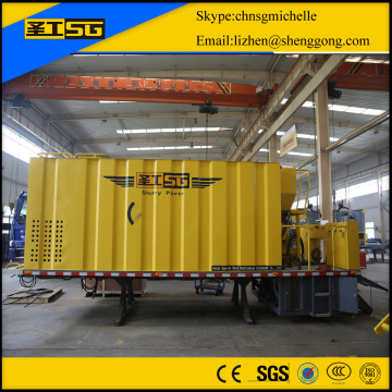 Aggregates Slurry Sealing Hopper   6×4 chassis