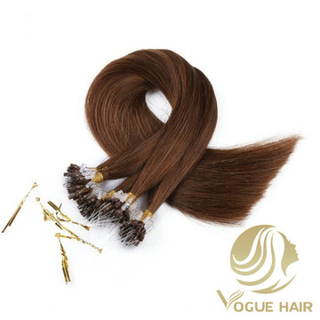 Cuticle remy micro loop hair extensions