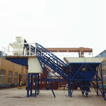 60 Wet Mobile Concrete Batch Plant