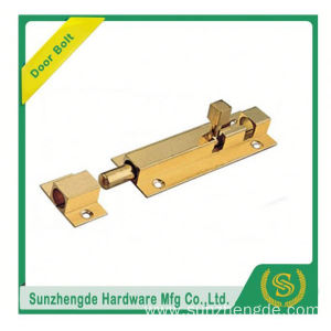 SDB-018BR New Model Machining Turning Brass Latches Bolts Heavy Bolts