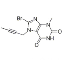 8-bromo-7- (but-2-inil) -3-metil-1H-purina-2,6 (3H, 7H) -diona 8-BROMO-7- (BUT-2-YNYL) -3-METHYL- 1H-PURINE-2,6 (3H, 7H) -DIONE CAS 666816-98-4