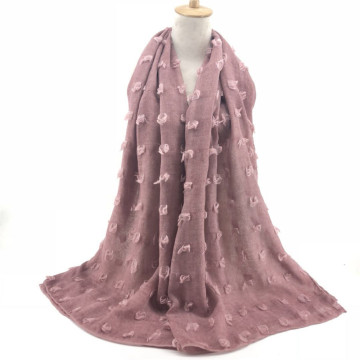 winter warm cotton large multifunction scarf