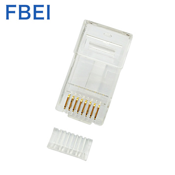 RJ45-stekker 8P8C-connector RJ45 CAT6A-connector