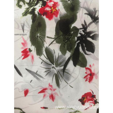 Printed Pajamas Fabric Made by Rayon Cloth