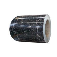 Marble pattern pvc film laminated aluminum sheet