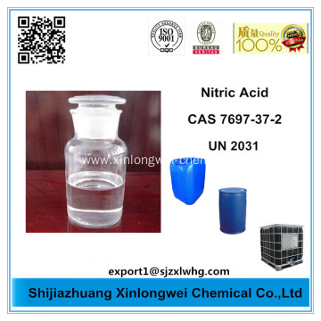 Nitric acid 68%, hydrogen nitrate , HNO3, 35kg cans