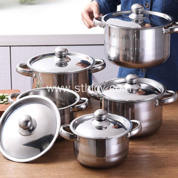 Food Grade Stainless Steel Cookware Set