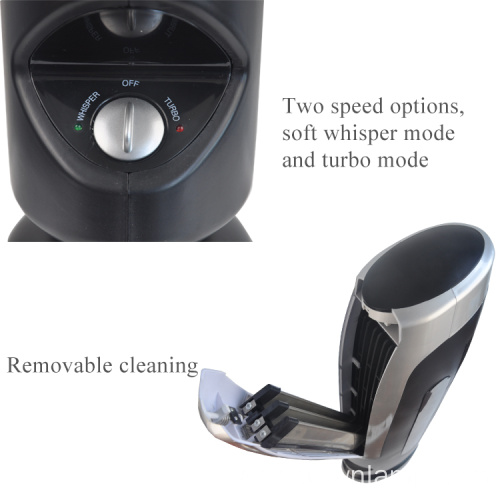 Indoor office air cleaner with ozonator filter