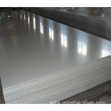 Aluminum 6061-T6 bare sheet PVC side for sales