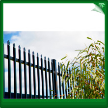 Security commercial wrought iron fencing