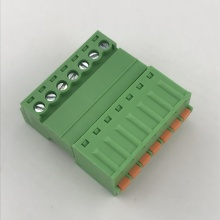 3.81mm pitch 7 pin spring pluggable terminal block