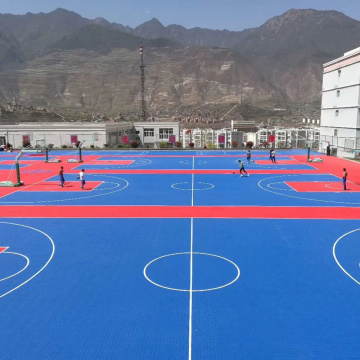 Enlio Professional Outdoors Basketball Court