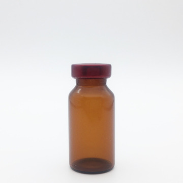 10ml Amber Sterile Seum Vials Red Cap