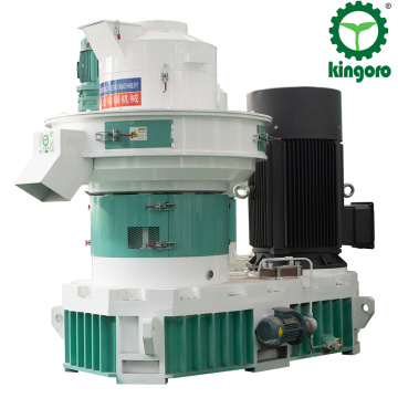 Automatic ring die biomass pellet machine