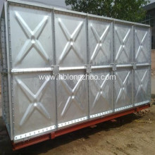 ISO Certificate Galvanized Steel Cold Pressed Water Tank