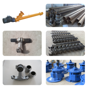 OEM factory direct industrial stainless steel screw conveyor