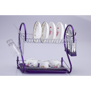 2 Tier dish rack dryer