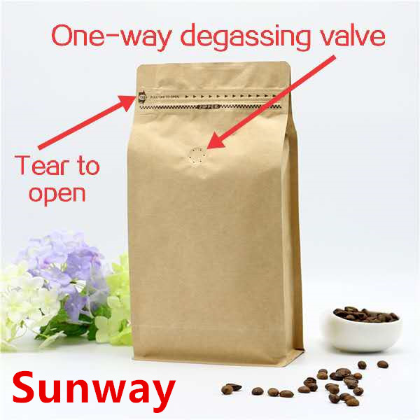 Small Brown Coffee Bags