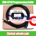 1pcs USB-GT10 Programming Cable For Mitsubishi / GT1020 GT1030 touch screen cable Electronic Data Systems