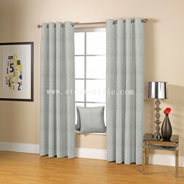 100% POLYESTER CHENILLE TOUCHING JACQUARD CURTAIN