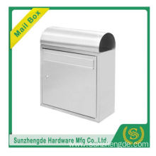 SMB-008SS Customize High Quality Outside Curve Aluminum Freestanding Postbox Mailbox